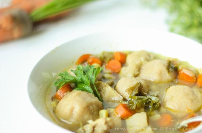 Crock-pot Chicken & Dumplings