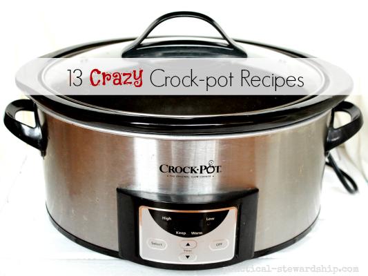 13 Crazy Crock-pot Recipes