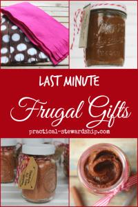 Last Minute Frugal Gift Ideas
