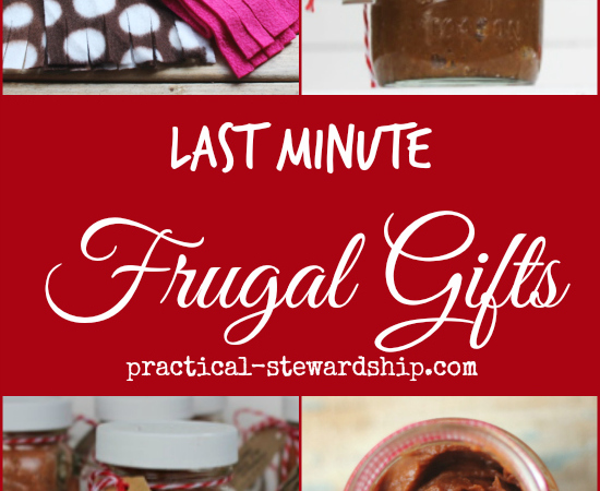Last Minute Frugal Gift Giving Ideas to Groups