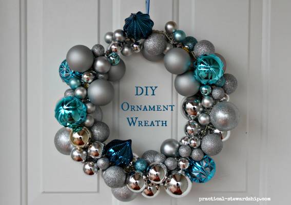 ornament wreath - Christmas Ball Wreath