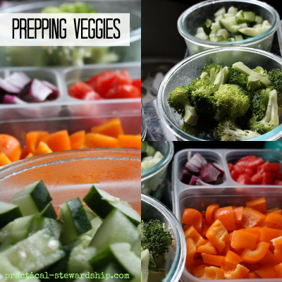 Prepping Veggies