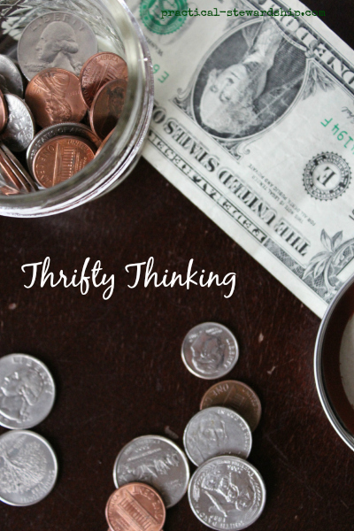 Thrifty Thinking and Ideas
