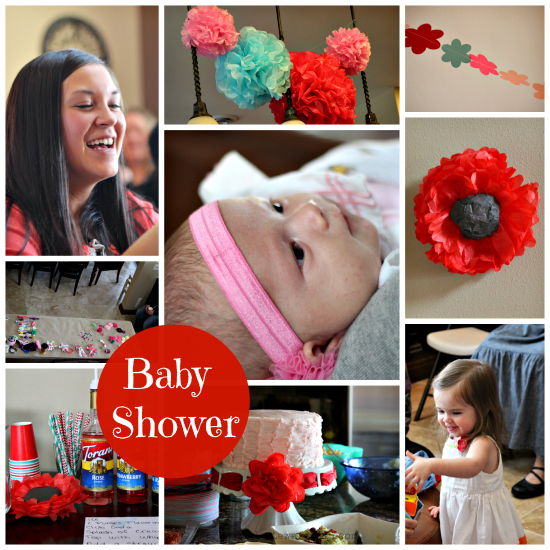 Baby Shower Ideas Collage