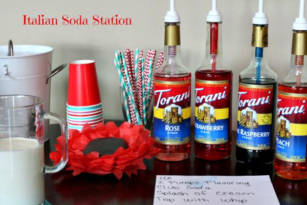 Italian Soda Station
