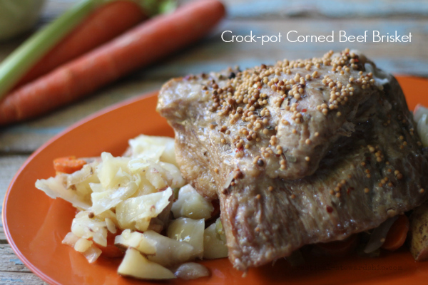 Crock-pot Corned Beef Brisket
