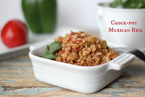 Crock-pot Mexican Rice