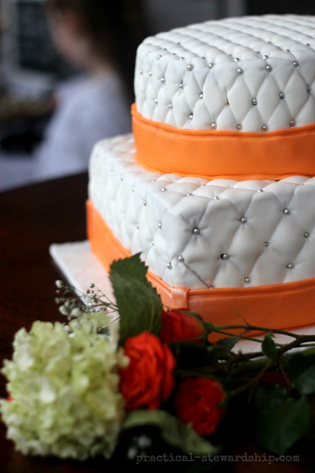 The Quilted Wedding Cake