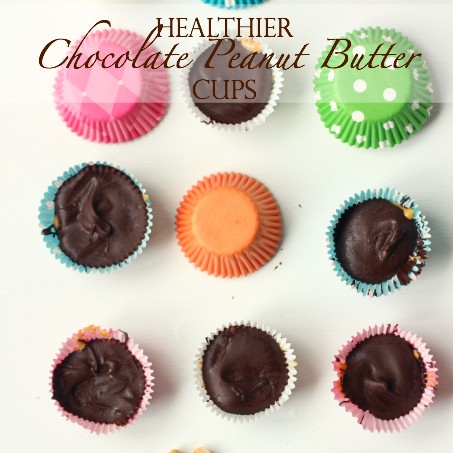 Healthier Peanut Butter Cups Recipe