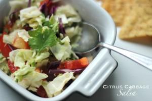 Citrus Cabbage Salsa