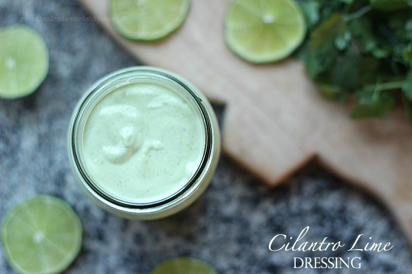 Creamy Cilantro Lime Dressing