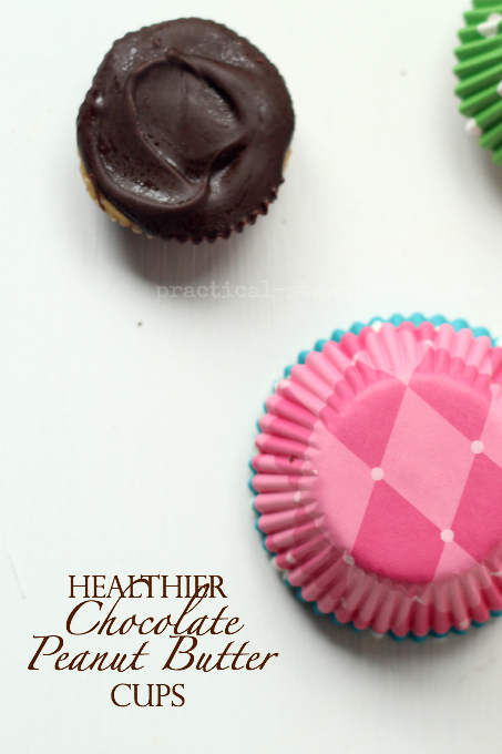 Healthy Chocolate Peanut Butter Cups