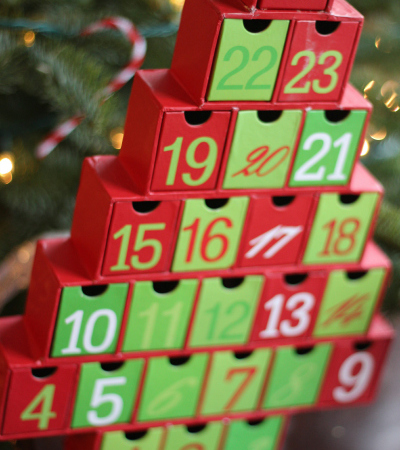 Advent Calendar and Advent Activities