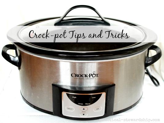 Crock-pot Tips and Tricks