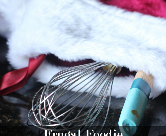 Frugal Foodie Stocking Stuffers
