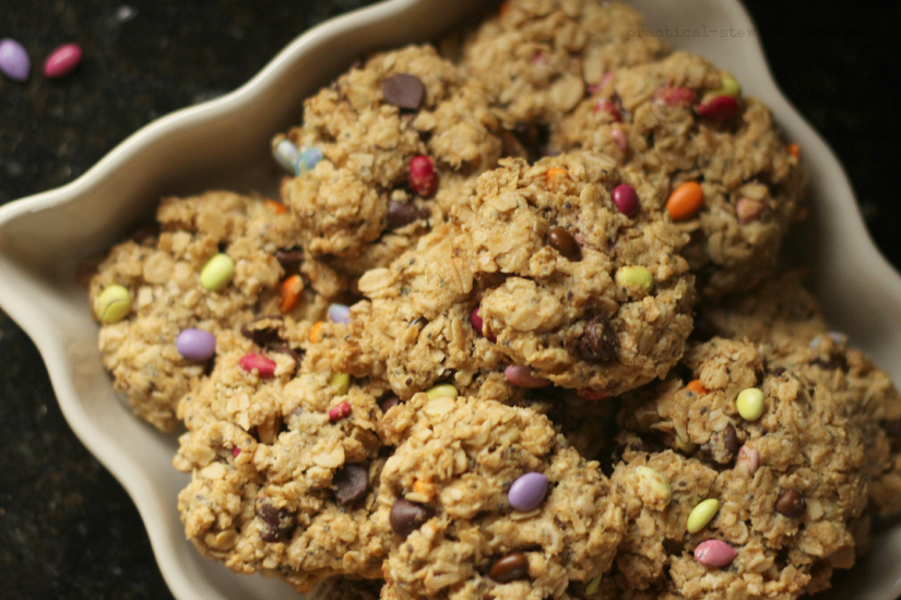 Monster Cookies GF, Dairy-free