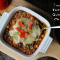 Crock-pot Turkey Quinoa Chili