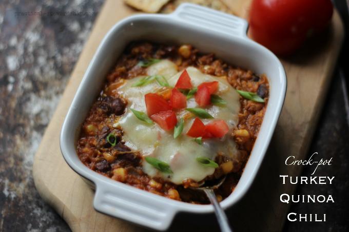 Crock-pot Turkey Quinoa Chili