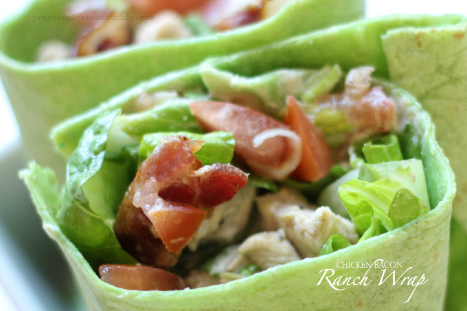 Chicken Bacon and Ranch Wrap