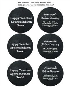 Happy Teacher Appreciation Free Printable