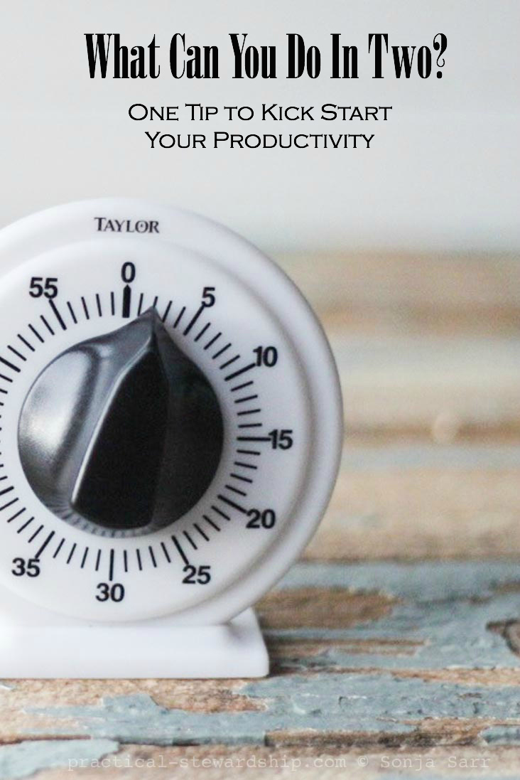 Kick Start Your Productivity