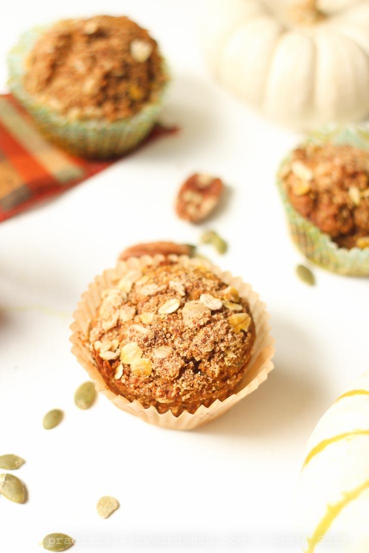 Pumpkin Banana Spice Muffins
