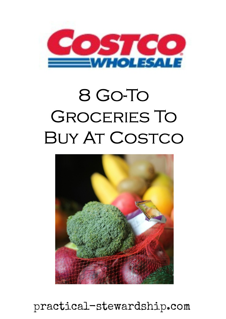Groceries to Buy at Costco