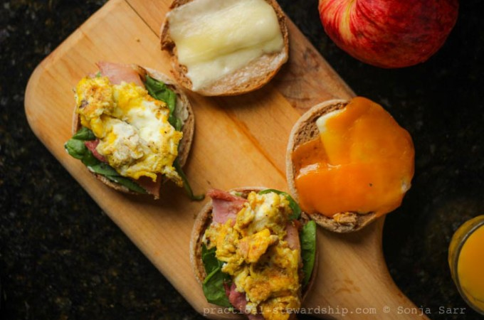 Meal-on-the-Go Copycat Egg Muffin