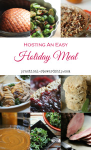 Easy Holiday Meal