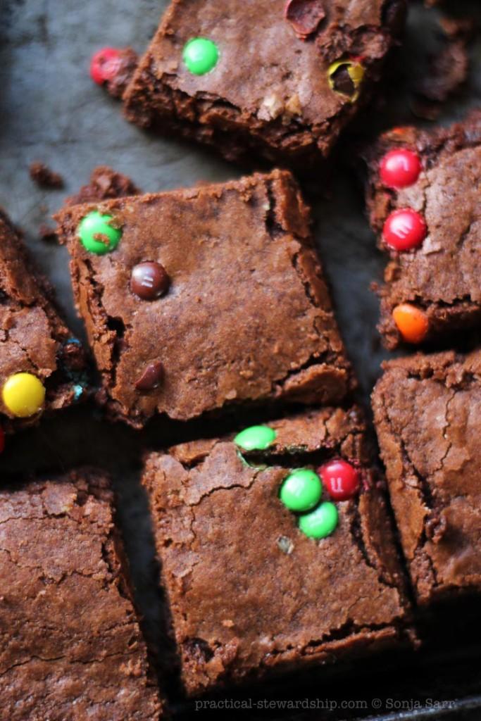 Dairy-free Dark Chocolate Brownies
