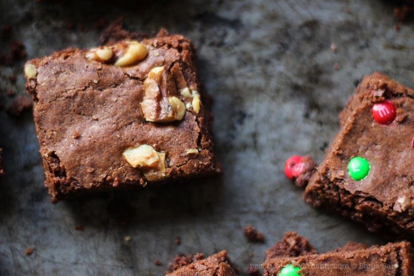 Dairy-free Dark Chocolate Brownies-4