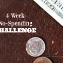 4 Week No-Spending Challenge