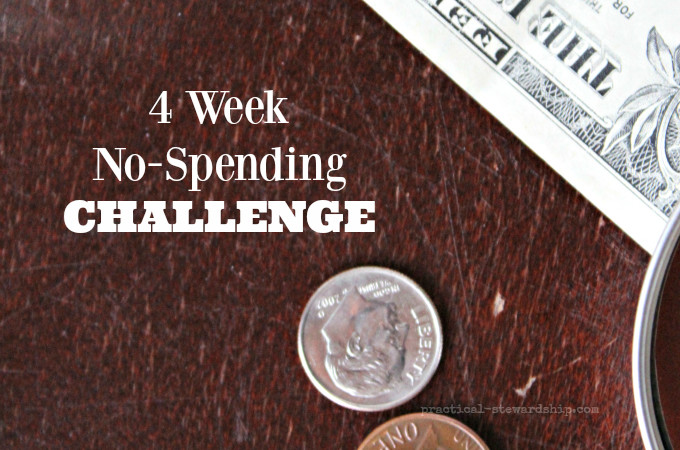4 Week No-Spending Challenge #4