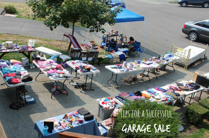 Tips to a Successful Garage Sale