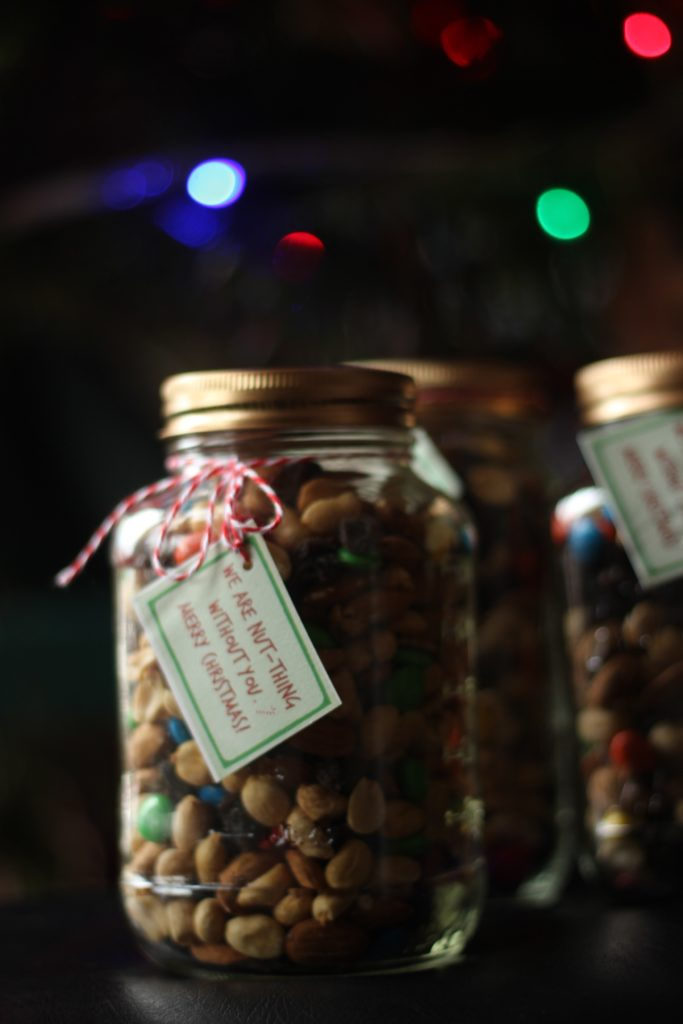 Trail Mix Free Christmas Printable