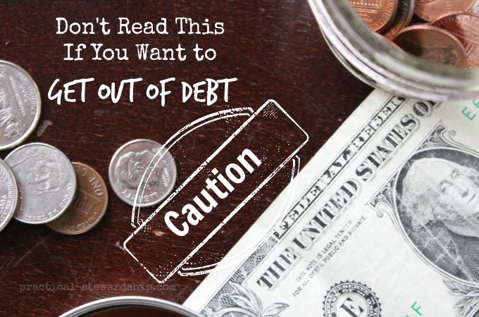 Don't Read This If You Want to Get Out of Debt